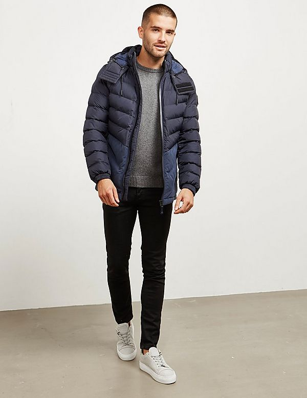 BOSS Obrook Quilted Padded Jacket
