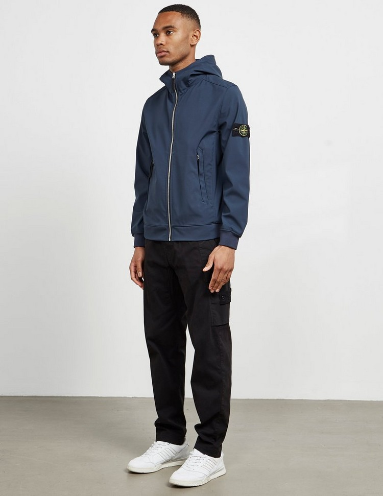 Stone Island Softshell Hooded Lightweight Jacket