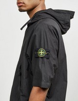 Stone Island Cotton Short Sleeve Hooded Overshirt