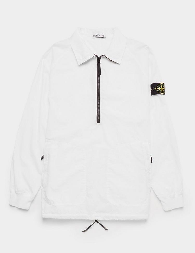 Stone Island Parachute Half Zip Smock Shirt