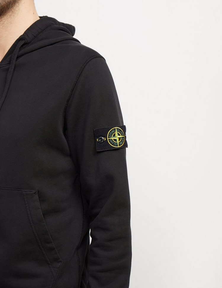 Stone Island Full Zip Badge Hoodie