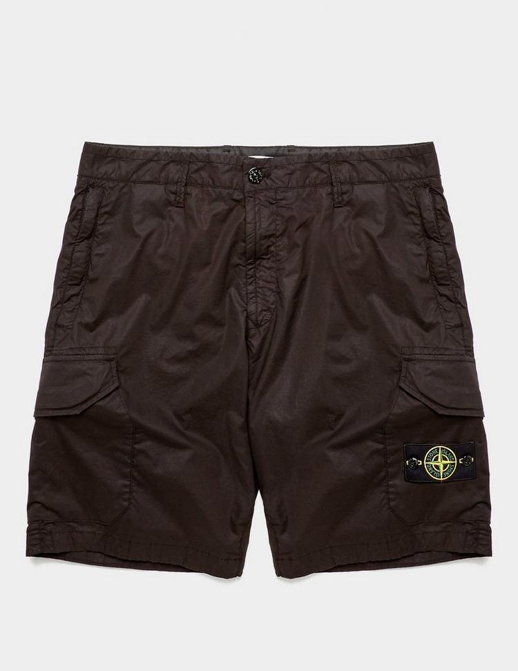 Stone Island Cotton Cargo Shorts