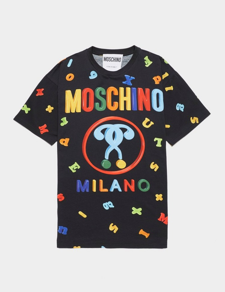 Moschino Letter Print Short Sleeve T-Shirt