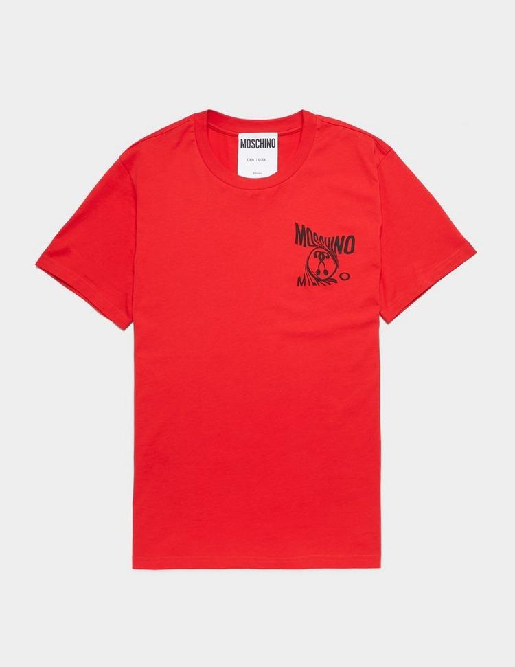 Moschino Warp Short Sleeve T-Shirt