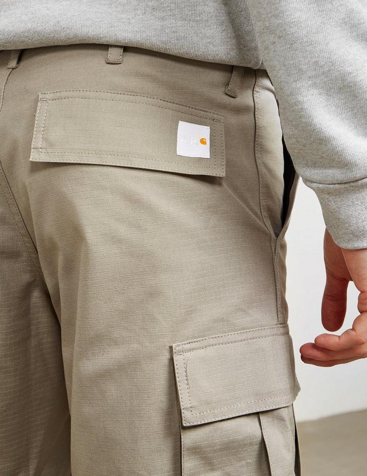 A.P.C x Carhartt Cargo Shorts