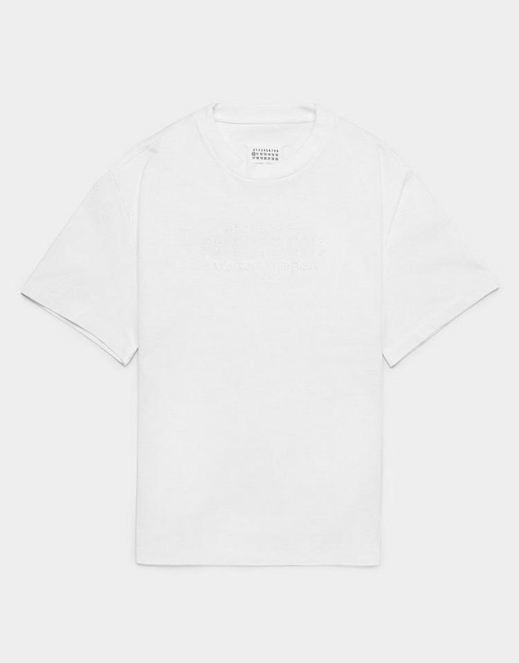 Maison Margiela Braille Short Sleeve T-Shirt