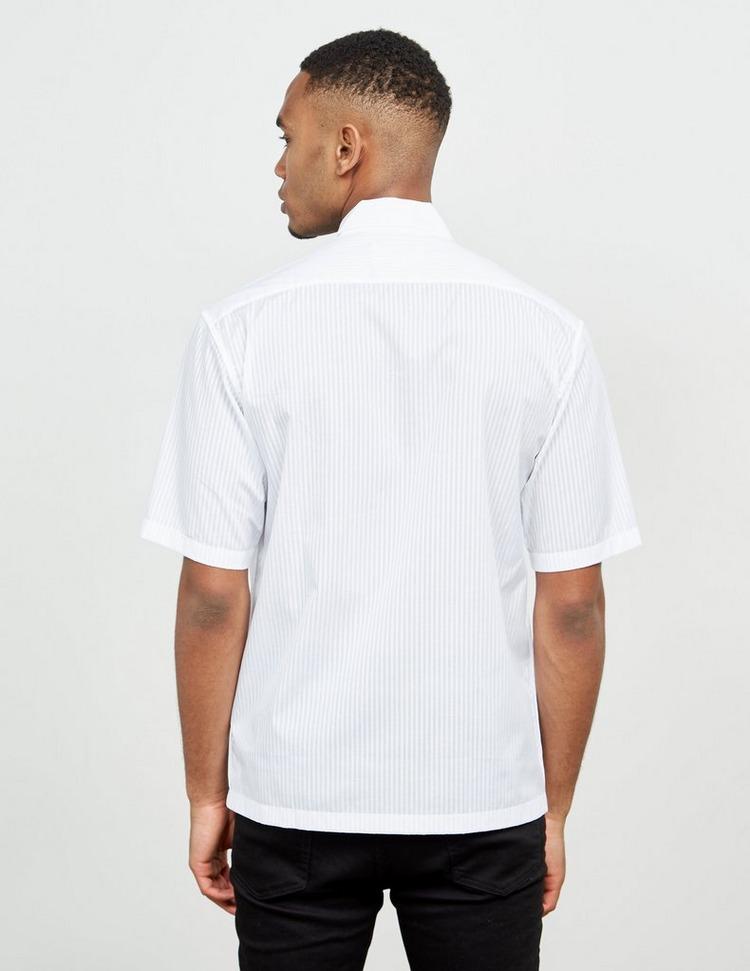 Maison Margiela Stripe Short Sleeve Shirt