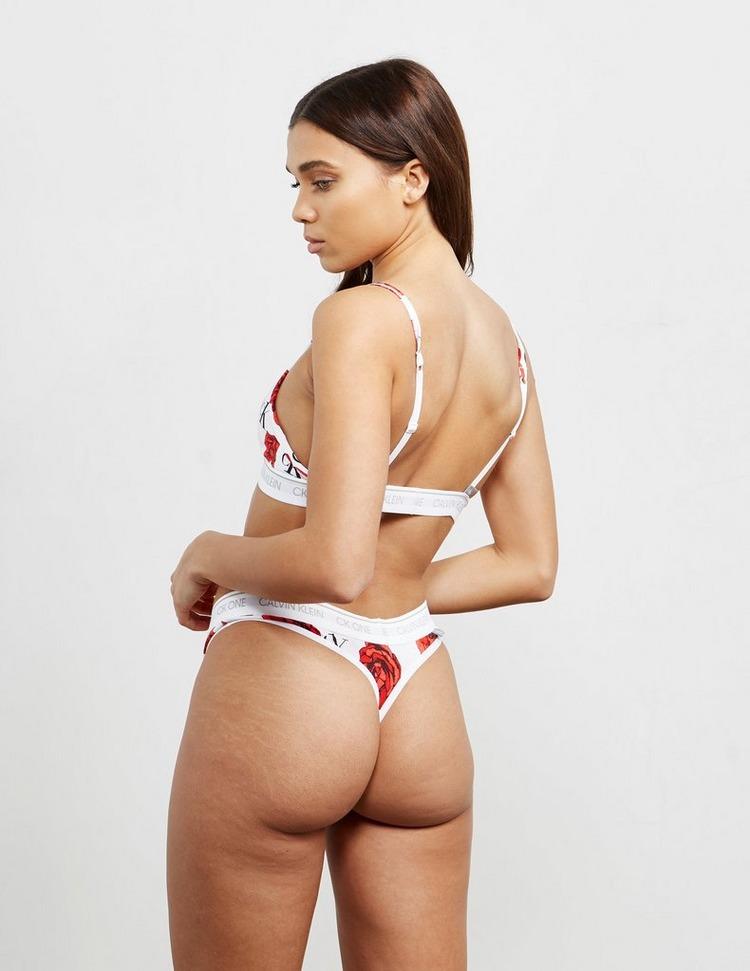 Calvin Klein Underwear CK One Triangle All Over Print Bra