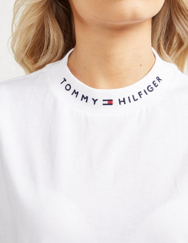 Tommy Hilfiger Logo Neck Short Sleeve T-Shirt