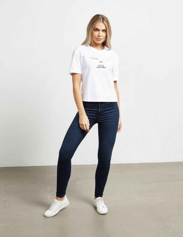 Tommy Jeans Small Logo Short Sleeve T-Shirt