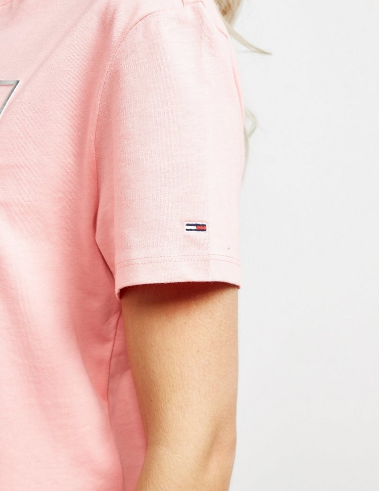 Tommy Jeans Foil Flag Short Sleeve T-Shirt