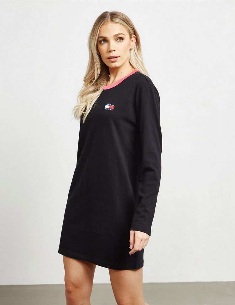 Tommy Jeans Ribbed Flag Dress