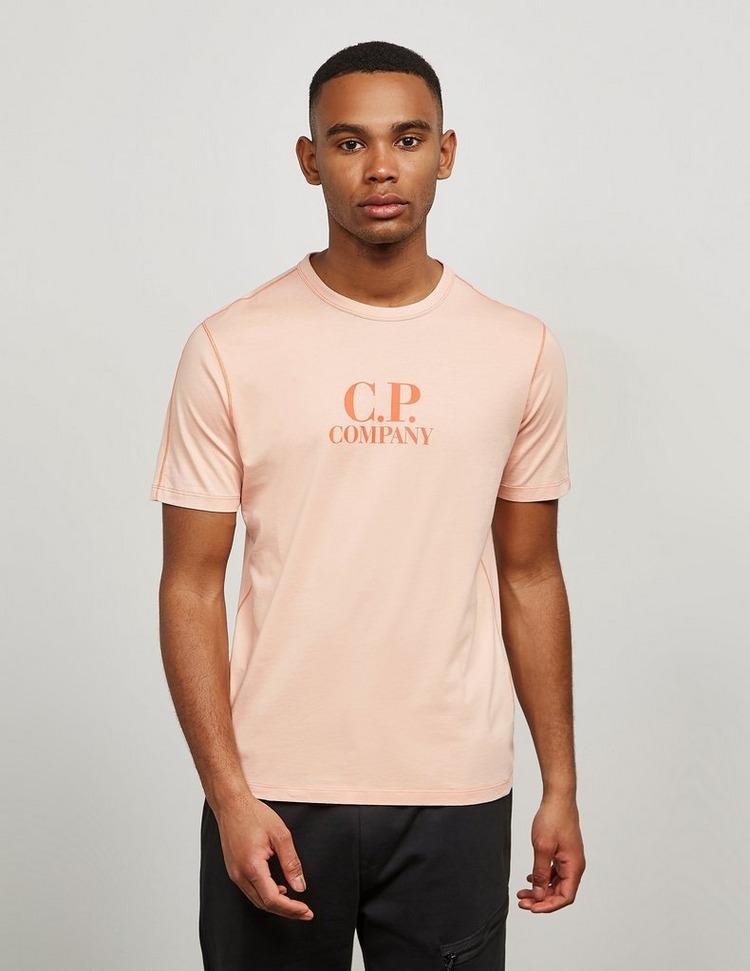 CP Company Logo Print Short Sleeve T-Shirt