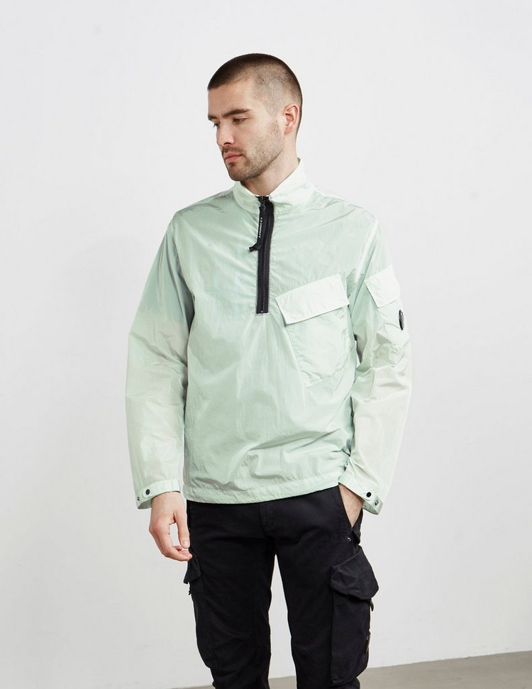 CP Company Chrome Quarter Zip Overshirt
