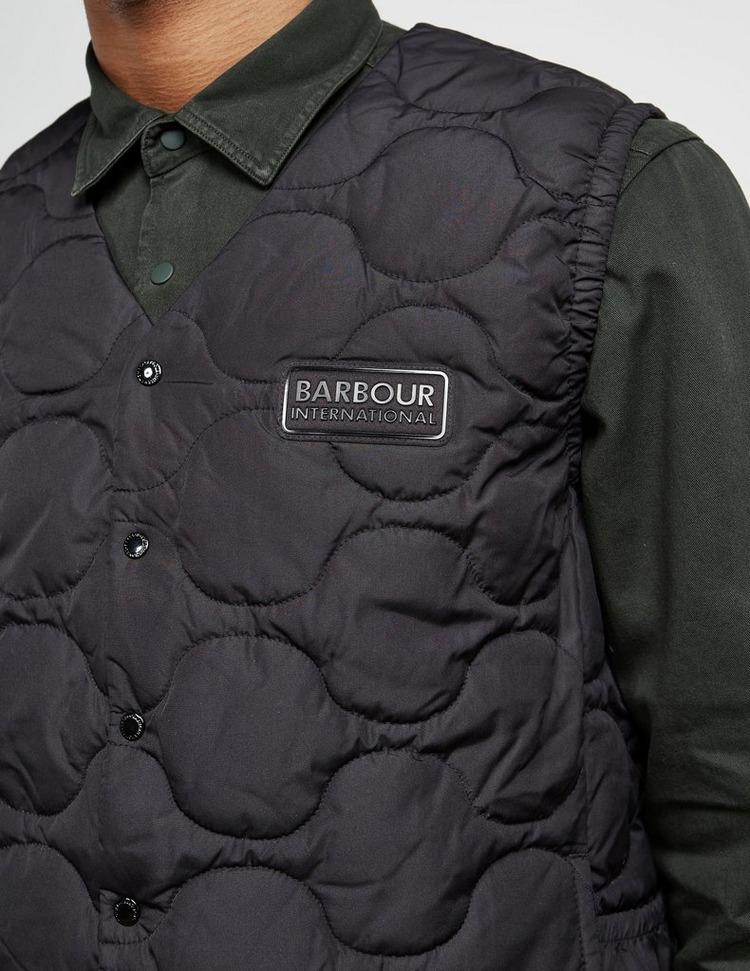 Barbour International Padded Gilet