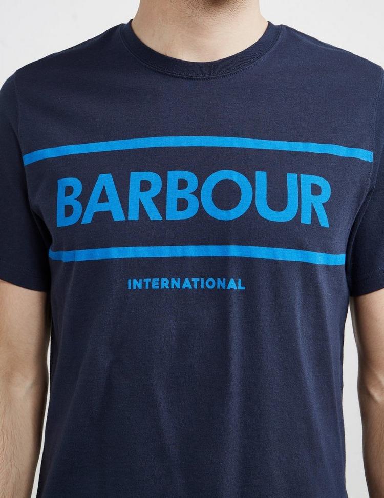 Barbour International Strike Logo Short Sleeve T-Shirt