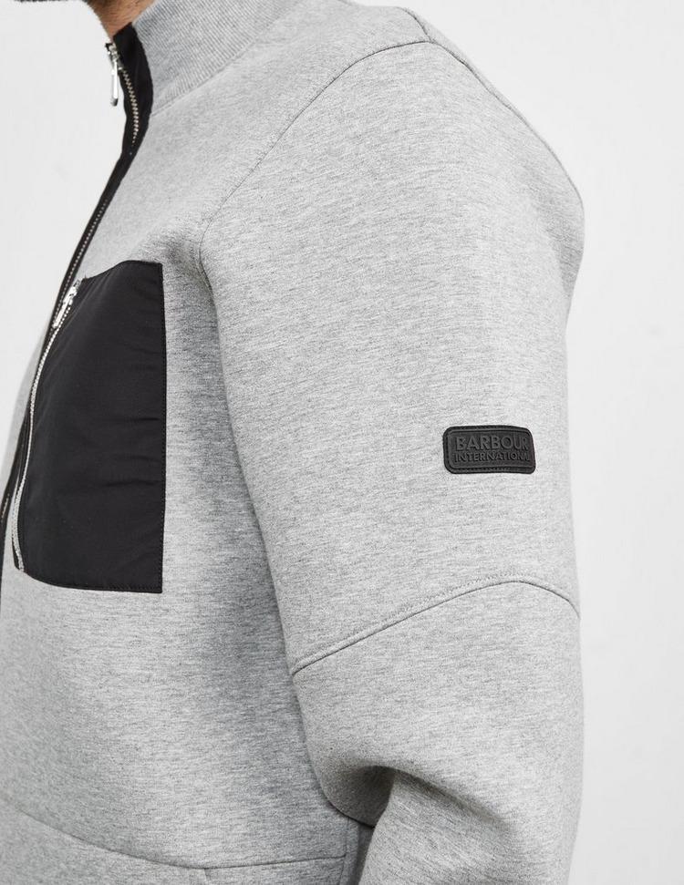 Barbour International Ratio Full Zip Sweatshirt