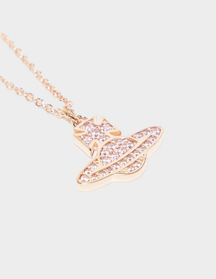 Vivienne Westwood Romina Pave Orb Necklace