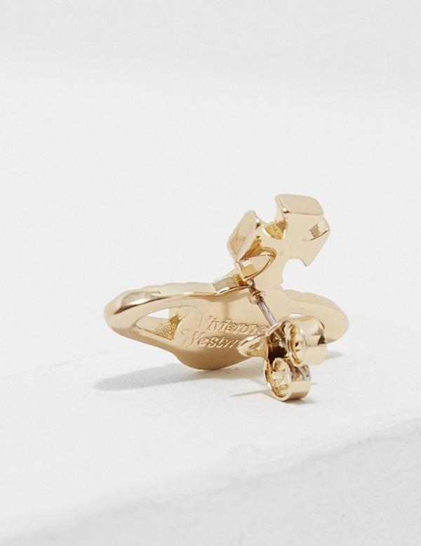 Vivienne Westwood Mayfair Bass Relief Earrings