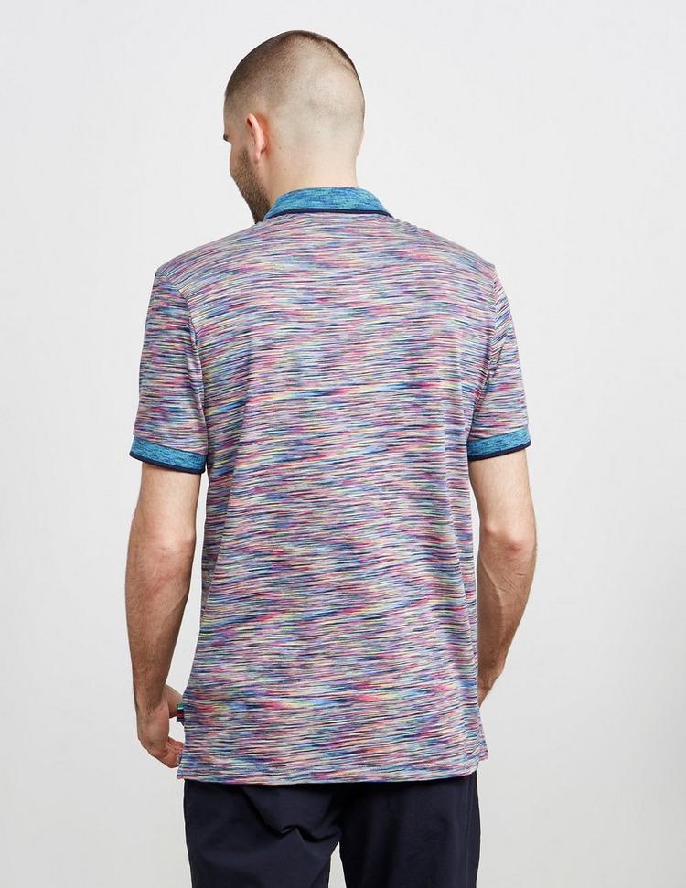 PS Paul Smith Space Dye Short Sleeve Polo Shirt