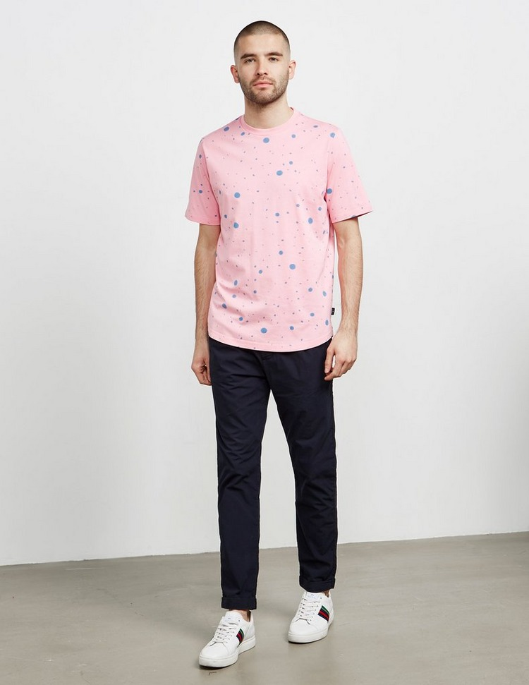 PS Paul Smith Graffiti Splat Short Sleeve T-Shirt