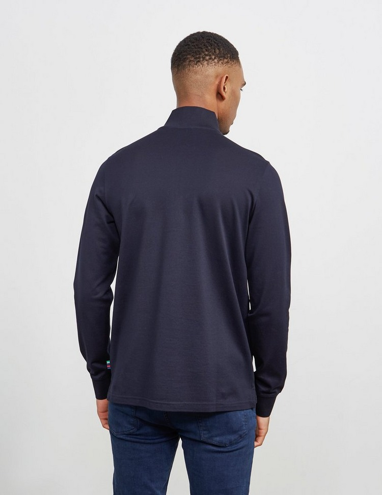 PS Paul Smith Pique Half Zip Sweatshirt