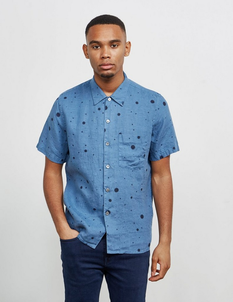 PS Paul Smith Graffiti Splatter Short Sleeve Shirt
