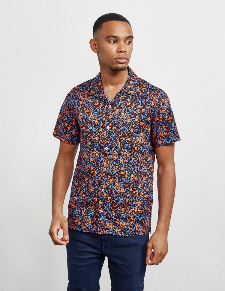 PS Paul Smith Micro Camo Short Sleeve Shirt
