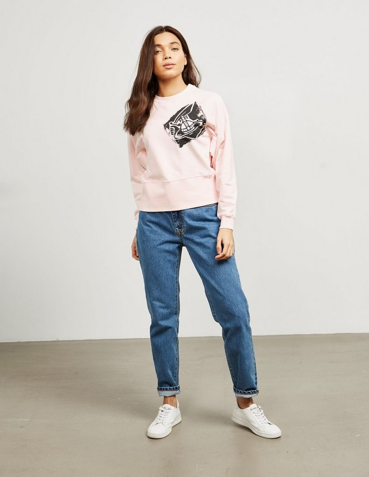 Vivienne Westwood Anglomania Athletic Crew Sweatshirt