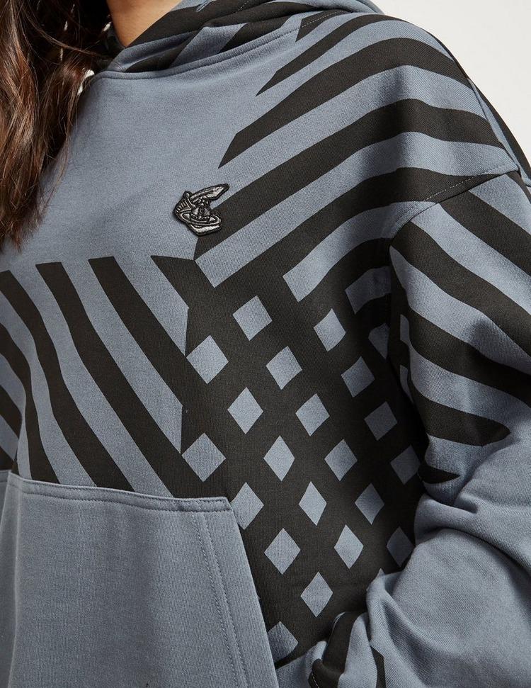 Vivienne Westwood Anglomania Diagonal Stripe Hoodie