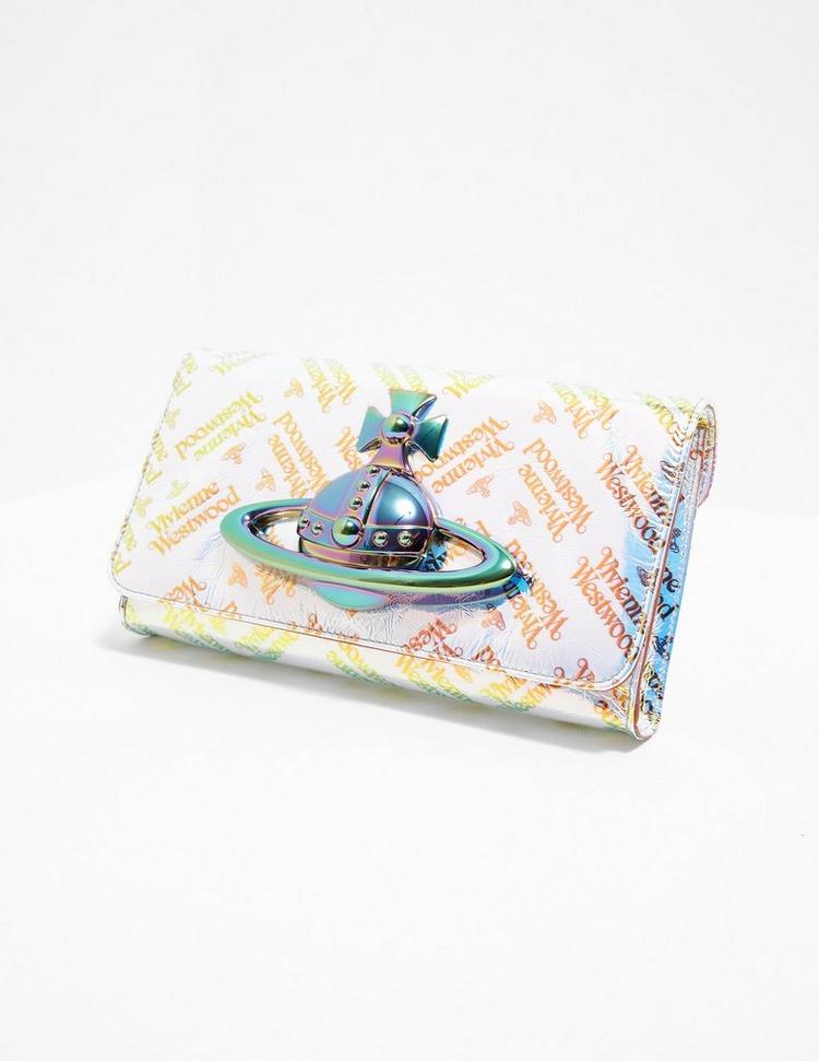 Vivienne Westwood Archive Orb Iridescent Clutch Bag