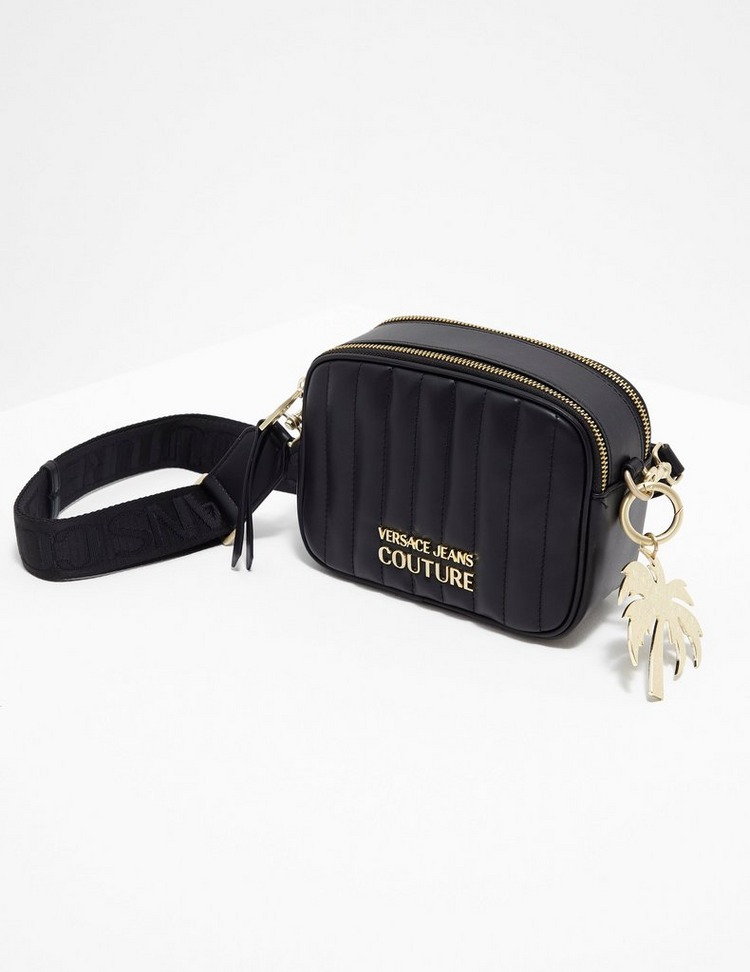 Versace Jeans Couture Quilted Cross Body Bag