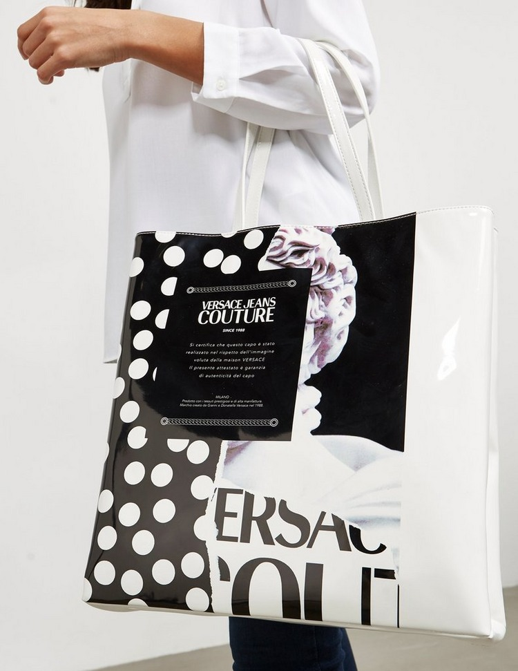 Versace Jeans Couture Print Tote Bag
