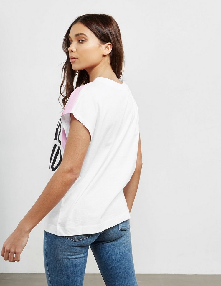 Love Moschino Melted Short Sleeve T-Shirt
