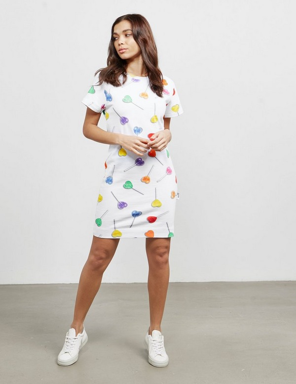 Love Moschino All Over Lollipop Dress