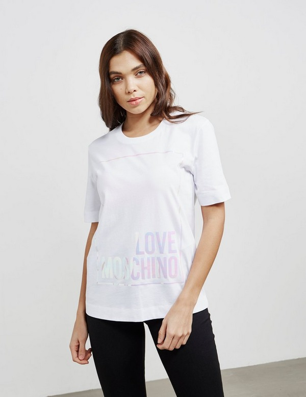 Love Moschino Logo Box Short Sleeve T-Shirt