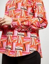MSGM Print Long Sleeve Shirt