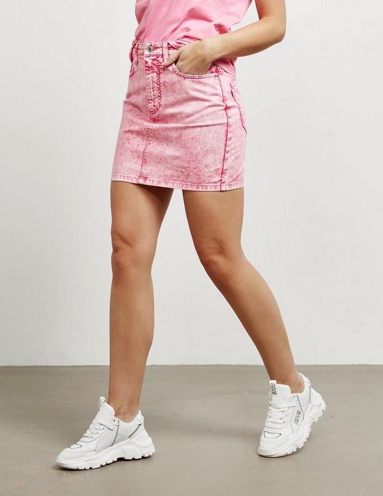 MSGM Denim Mini Skirt