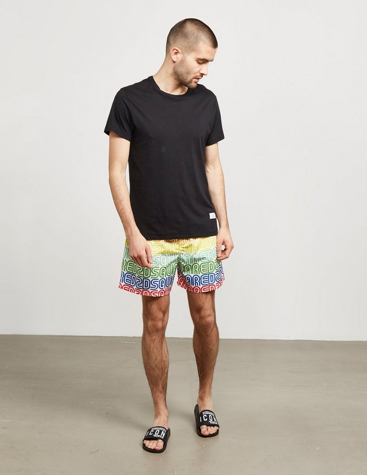 Dsquared2 Rainbow Swim Shorts