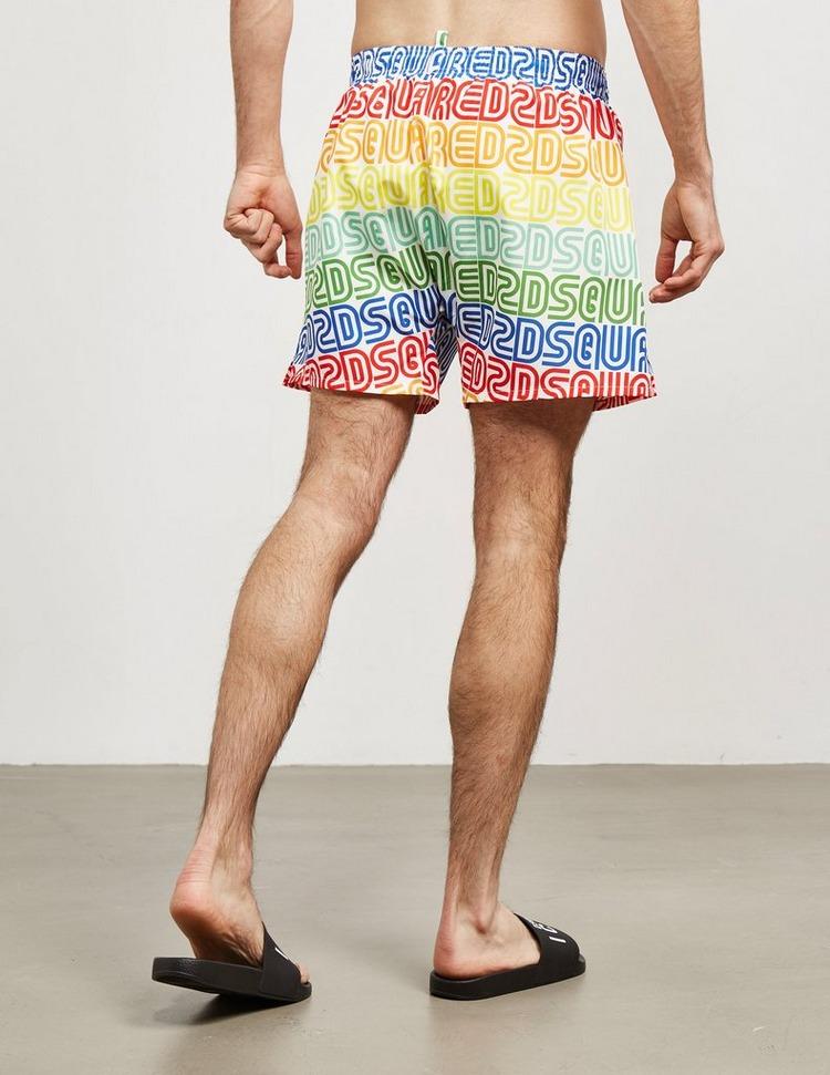 Dsquared2 Rainbow Swim Shorts
