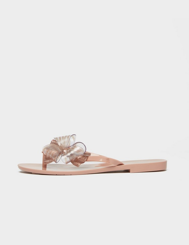 Melissa Harmonic Bow Slip On Sandals