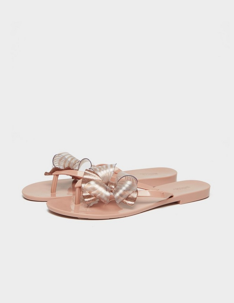 Melissa Harmonic Bow Slip On Sandals