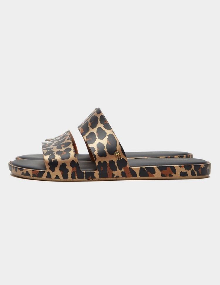 Melissa Leopard Print Colour Pop Sandals