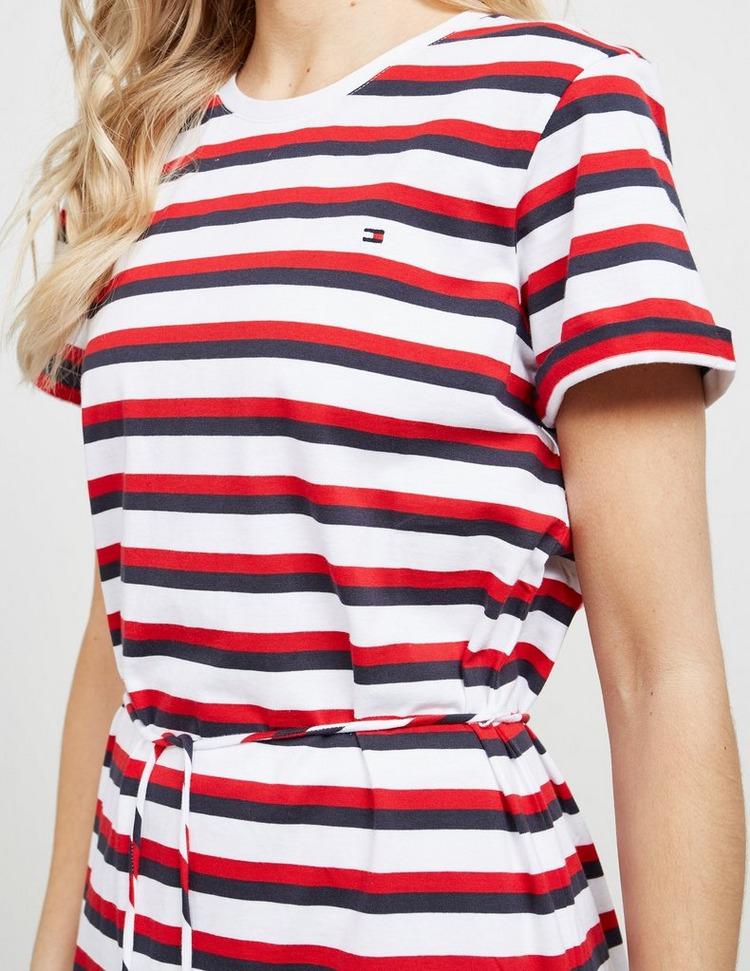 Tommy Hilfiger Stripe Tie Dress