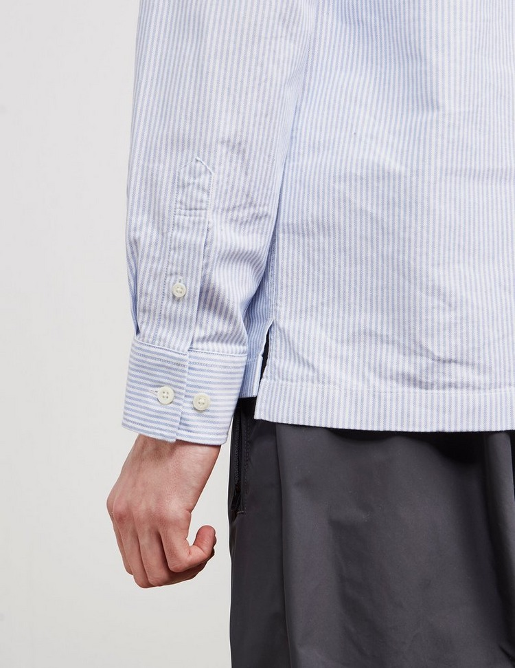Norse Projects Pin Stripe Long Sleeve Shirt