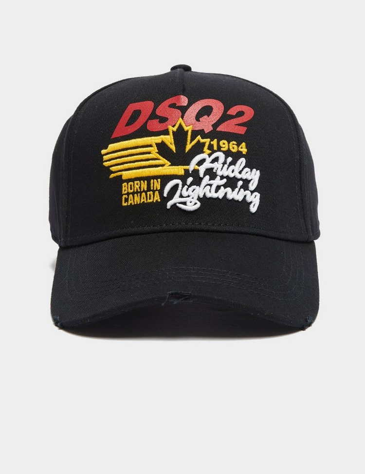 Dsquared2 Embroidered Maple Cap