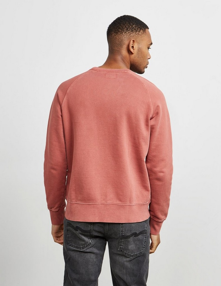Nudie Jeans Circle Patch Sweatshirt