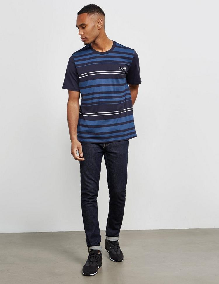 BOSS Stripe Short Sleeve T-Shirt