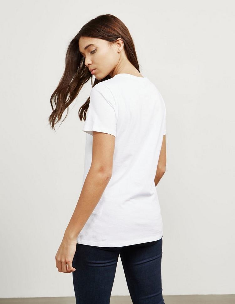 BOSS Glitter Logo Short Sleeve T-Shirt