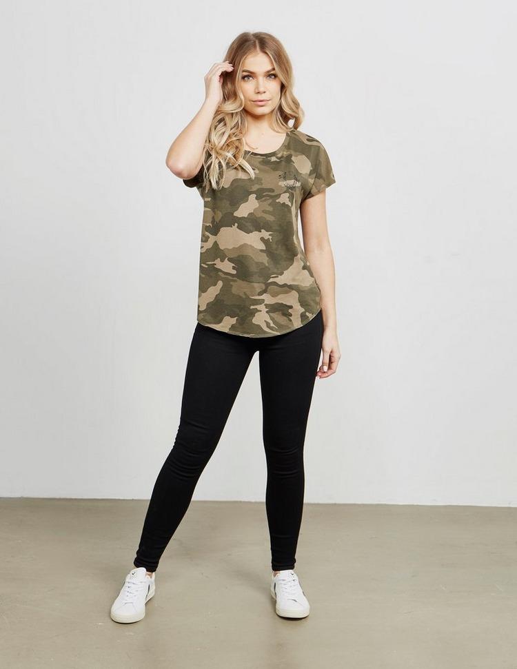 True Religion Camouflage Short Sleeve T-Shirt